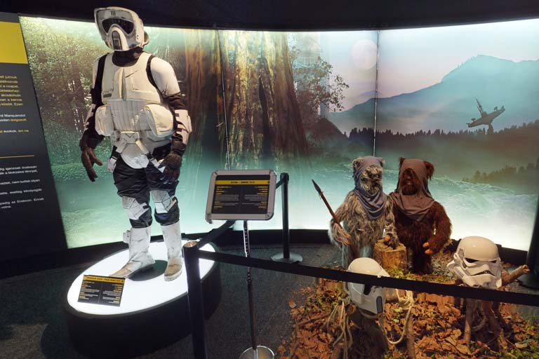 Star Wars fan exhibition in Las Vegas